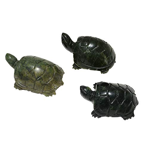 Feng Shui Jade Tortoise Turtle Statue Figurine for for sale  Delivered anywhere in Canada