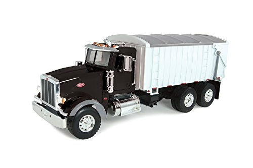 Peterbilt Tractor Trailer Diecast Toy - Ertl Big Farm 1:16 Peterbilt Model 367 With Grain Box