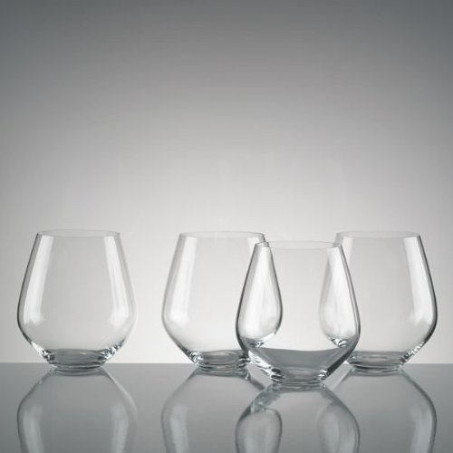(Lenox Tuscany Classics 4-piece Simply Red Tumbler Set)