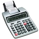 Casio Printing Calculator - 12 Character(s) - Power Adapter Battery Powered
