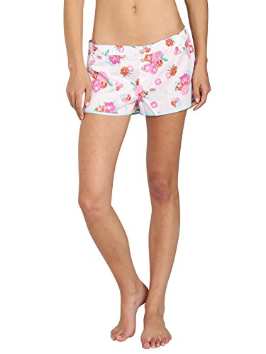 Juicy Couture Women's Printed PJ Shorts, Confetti, Medium ()