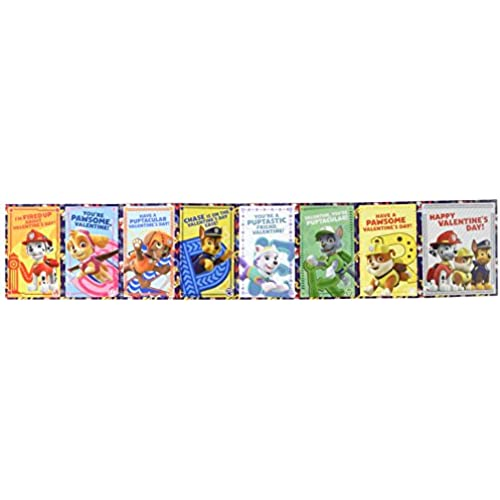 Paw Patrol Valentines Cards - Box of 32 Cards Sales