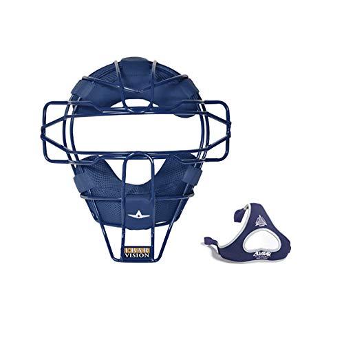 All-Star Ultra Cool Lightweight Catchers Face Mask Royal (Catchers Baseball Mask)