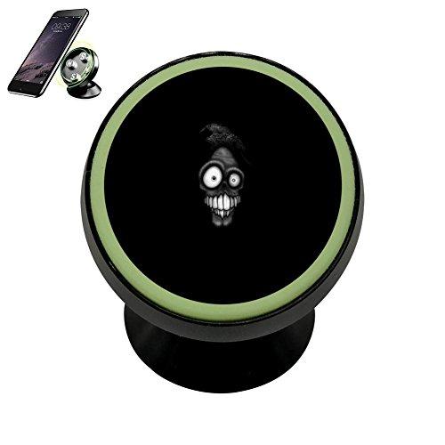 Cnlacek Fashion Spoof Noctilucent Function Magnetic Phone Car Mount Holder Rotatable Cell Phone (Kjl Design)