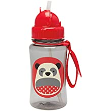 Skip Hop Zoo Straw Bottle, 12 oz, Pia Panda
