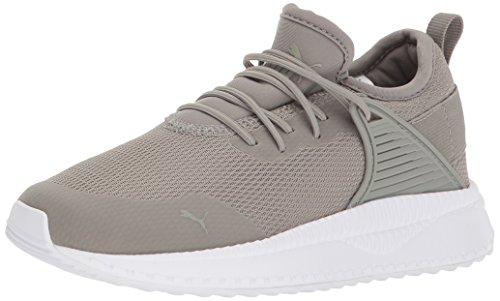 037f97080177b PUMA Baby Pacer Next Cage Velcro Kids Sneaker, Rock Ridge, 5 M US Toddler