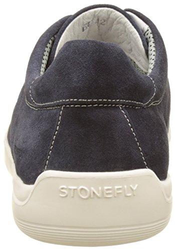 124 Oscar Stonefly Denim Zapatillas Azul para 1 Hombre 0ROZwqdg