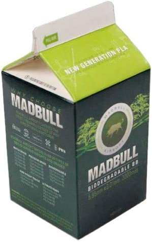 Madbull - 0.28g PLA Bio BBS - Biodegradable Milk Carton 3000 RDS ...