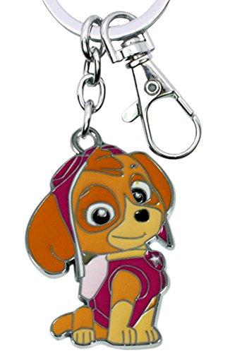 Nickelodeons PAW Patrol Sky Keychain Key Ring Cartoons TV Comics Movies Superhero Theme Premium Quality Detailed Cosplay Jewelry Gift Series