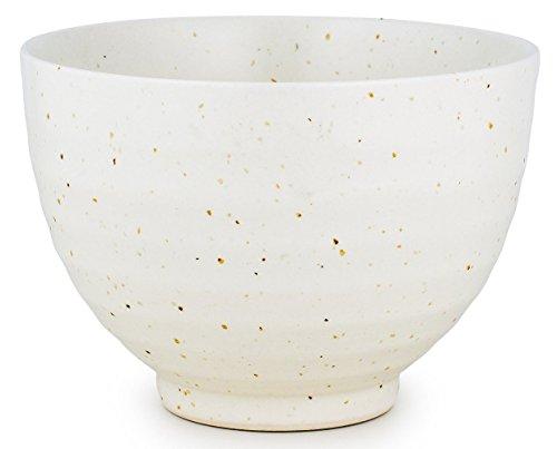 MatchaDNA Handcrafted Matcha Tea Bowl - White by MatchaDNA