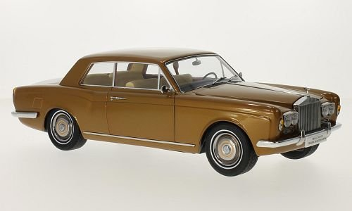 Rolls Royce silver shadow MPW 2-Door Coupe, metallic-bronze, 0, Model Car, Ready-made, Paragon 1:18