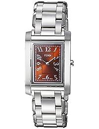 Fendi Women's 'Loop' Swiss Quartz Stainless Steel Dress Watch, Color:Silver-Toned (Model: F775320)