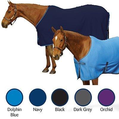 Centaur- Turbo-Dry Horse Sheet| Size| L Horse;Color| Navy by Centaur