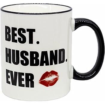 FUNNY MUG-best husband ever 11OZ Ceramic Coffee Mug, Nice Motivational And Inspirational Office Gift .-by Mecai