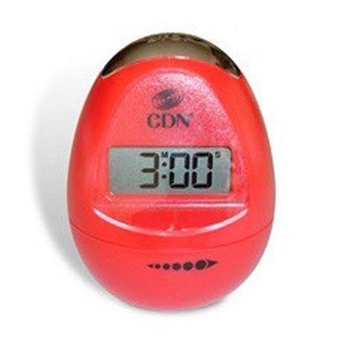 CDN TM12-R Digital Egg timer, Pearl Red
