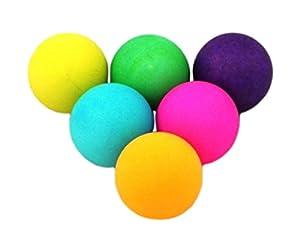 Donic-Schildkröt Tischtennis-Ball COLOUR POPPS 6er Blistercard, bunt, One...