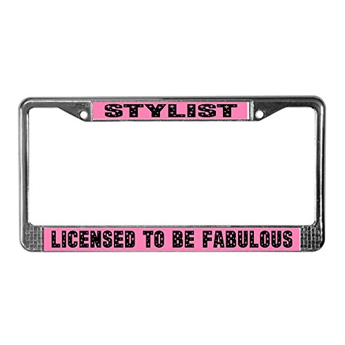 10 best stylist license plate frame for 2019