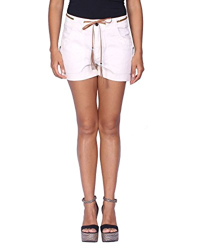 Kaporal Women's Shorts NUBIE - Off-White, US Size: M/UK Size: L by Kaporal