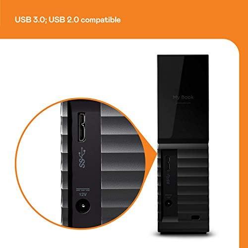 Wd My Book Desktop Externe Festplatte 6 Tb Usb 3 0 Computer Zubehör
