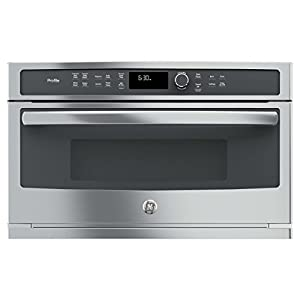 PWB7030SLSS Built-In Microwave/Convection Oven With 1.7 cu. ft. Capacity Combination Fast Cook Setting Steam Sensor My Cycle Glass Touch Controls in Stainless Steel