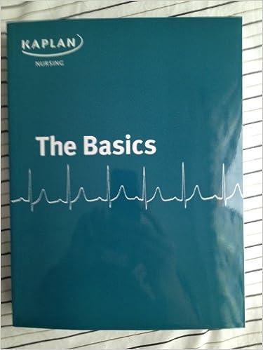 Kaplan nursing the basics kaplan university amazon books fandeluxe Gallery