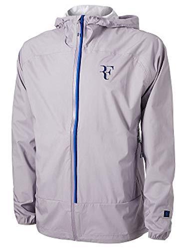 Nike Mens RF Rafael Nadal Windbreaker Tennis Jacket Gray Blue Size 2XL AH8385-573