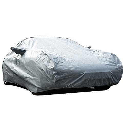 Custom-fit Outdoor Car Cover for Porsche Boxster - 986 & 987-1996 to 2012-4 Layer Padded, Waterproof & Breathable Fabric