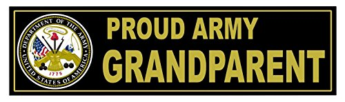 1-Pc Extraordinary Unique U.S. Proud Army Grandparent United States of America Department 1775 Sticker Signs Home Military Bumper Mac Cars Vinyl Decor Macbook Laptop Stickers Window Decal Size - Name Oakley Is Irish An