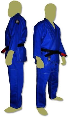 プレミアムBrazilian Jiu Jitsu Kimonos – ホワイト、ブルーまたはブラック( a2 ,ブルー)