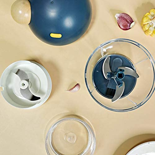 JYDQM Cuisine Outil Multifonctions Hachoir d'ail Coupe-légumes trancheuse Speedy Chopper Outils Manuel Mini Hachoir à Viande