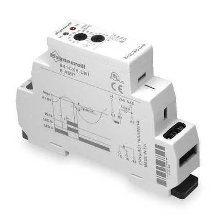 Dayton 1EJF4 Relay, Current Sensing, SPDT, DIN-Mount