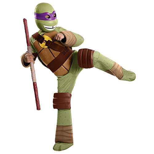 Rubie's Toddler Teenage Mutant Ninja Turtles Deluxe Donatello Costume, 1-2 Years