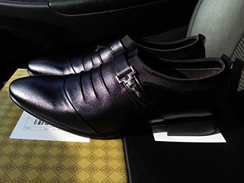 Boda Para Cuero Brown Tela Zapatos 46 Artificiales Clásicos Lona zapatos La Cn Tamaño Negocios Formales Hombres Blancos 48 A 47 Pu negro Colores Negros 45 De Vestir YYqOtwS