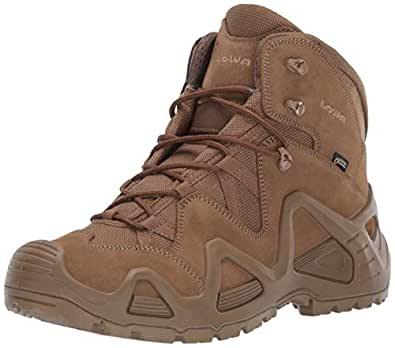 LOWA Boots Mens 310537 0731 Zephyr GTX Mid Brown Size: 9