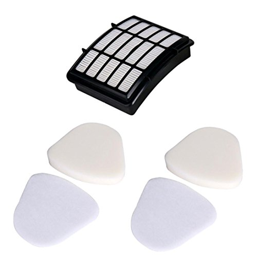 Anxinke Home Kitchen Cleaning Replacement Accessory Kit Parts for Shark Navigator Lift-away Nv350 Nv351 Nv352 Nv355 Nv356 Nv357 Pre-filter Foam (3 Parts)