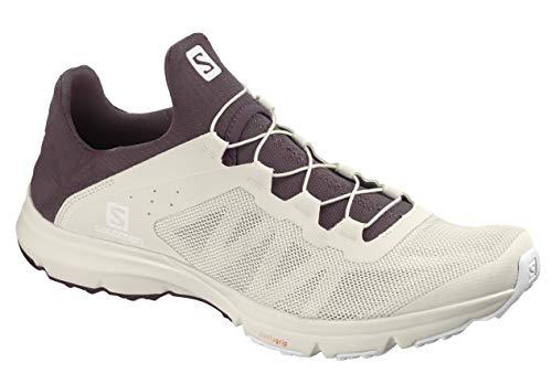 SalomonSalomon Women's Athletic-Water-Shoes, Vanilla Ice/winetasting/White,  10 | DailyMail