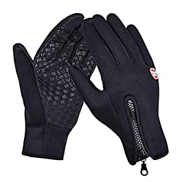Handcuffs Fashion Warm Waterproof Winter Outdoor Glove Cycling Gloves Biking Gloves Snowmobile Snowboard Ski Gloves…