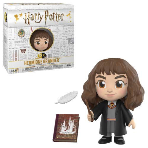 Funko 5 Star Hermione Figurina de Vinillo, Coleccion Harry Potter POP Movies, 9 cm (30451)
