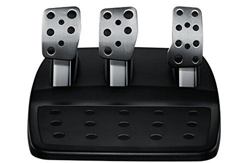 Logitech 941-000122 Ruedas + Pedales PC,Xbox One Negro mando y volante - Volante/mando (Steering wheel + Pedals, PC, Xbox One, Digital, Atrás, Hogar, Menú, ...