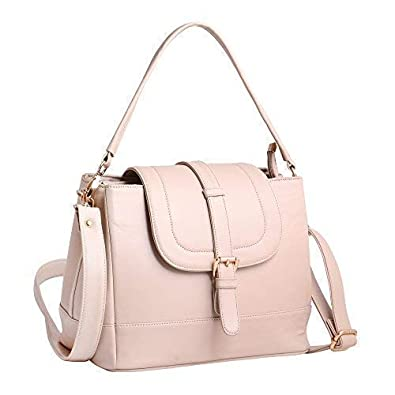 women marks Girl's Hand Held Sling Bag Cream