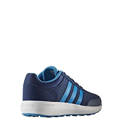 adidas Cloudfoam Race K, Zapatillas Unisex Niños, Azul (Azumis/Azusol/Ftwbla), 38 EU