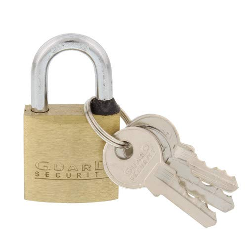 Guard Security 622 Solid Brass Padlock with 1