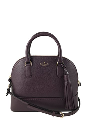 Kate Spade New York Carli Mccall Street Leather Satchel in Mahogany by Kate Spade New York