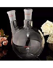 Atfipan 1000ml 2 Neck 24/40 Flat Bottom Glass Flask Laboratory Boiling Bottle