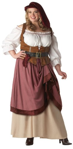 Renaissance Woman Costume - XX-Large - Dress Size