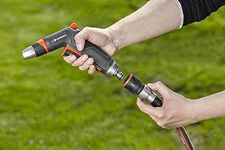 Gardena Raccord dArrosage Aquastop 13 mm Powergrip 5//8 et 15 mm 1//2 Changement Facile 18213-20 Connecteur avec Aquastop