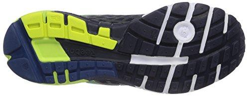 Reebok One Guide 2.0 - Zapatillas de running de material sintético para hombre Multicolor (Faux Indigo/Batik Blue/Solar Yellow/White)