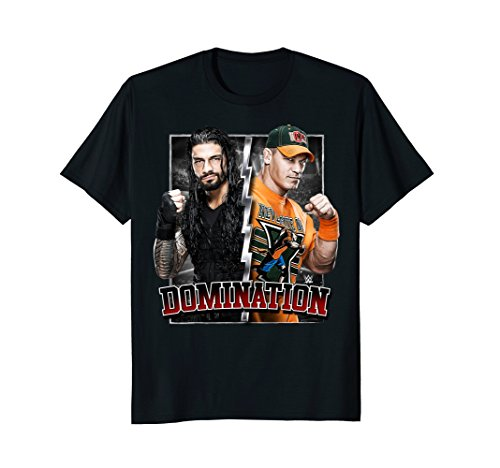 (WWE Roman Reigns Meets John Cena Domination Graphic)