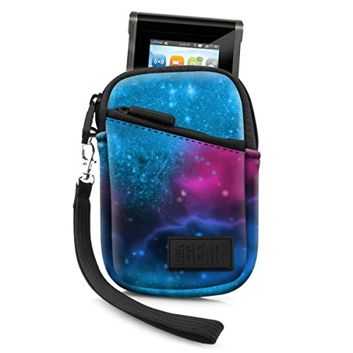 Portable Wi-Fi Hotspot Case for Verizon MiFi 6620L / Ellipsis Jetpack , Huawei E5330 , AT&T Unite Pro / Velocity , GlocalMe G2 by USA Gear - Protective Sleeve , Belt Loop & Wrist Strap by - Galaxy