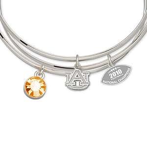 NCAA Auburn Tigers 2010 Football National Champion Triple Bangle Bracelet